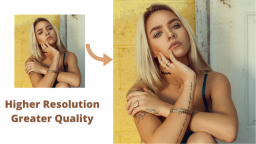 How to Increase Resolution of Image?