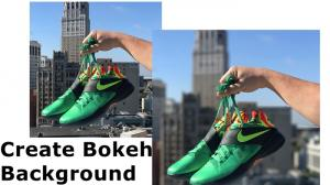 Selected Tools to Create Bokeh Background 2021