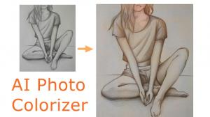 Colorize Pencil Drawings with AI Photo Colorizer
