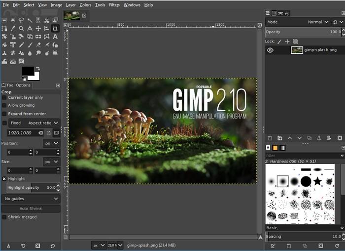 gimp-to-blur-edges