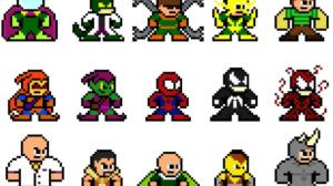 Top 10 Best Pixel Art Game Characters Enlarged by AI