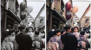 昔の写真をフルカラー写真へ―昭和の文豪の写真をカラー化してみた