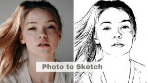 How to Do Line Drawing Face with AI?